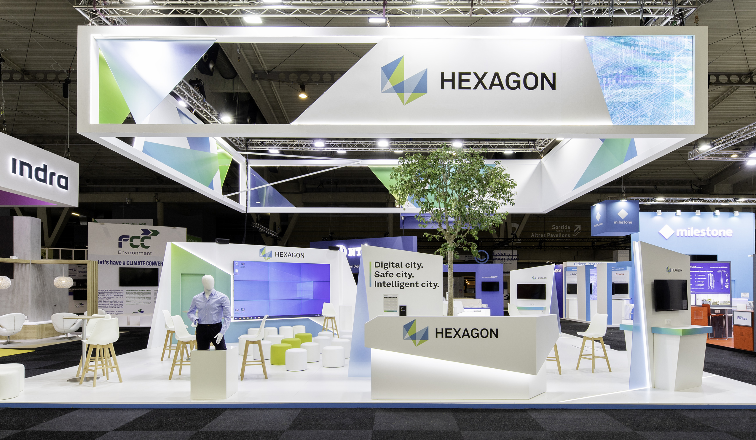 HEXAGON / SMART CITY / FIRA BARCELONA