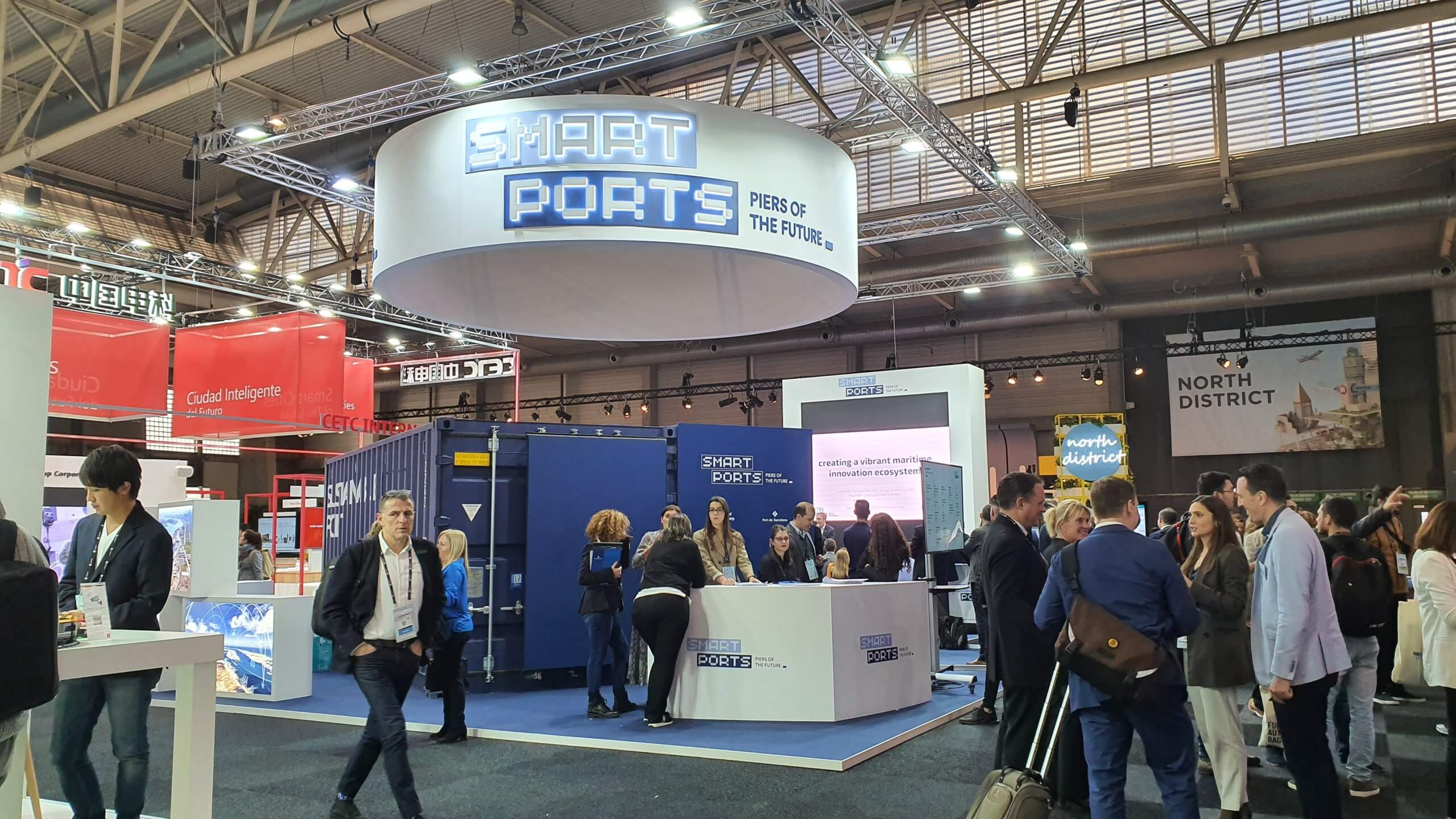 SMART PORTS / SMART CITY / FIRA BARCELONA